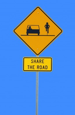 share-the-road-sign